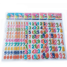 Numbers Stickers Kids Toys Baby Cartoon for 10pcs/Lot Digital 3D Early-Educational