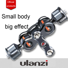 VLOGGER VIPER шарнирное крепление Magic Arm, 360 градусов, 6 кг, полезная нагрузка, Алюминиевый винт 1/4, полевые мониторы, крепление для Sony A7 A6400 DSLRs