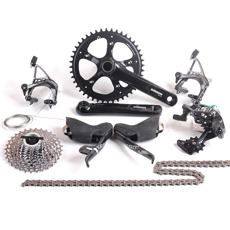 SRAM FORCE 1 Road Bike Groupset 11s 1x11 Speed APEX 1 S350 Cranket 44T 170mm 11