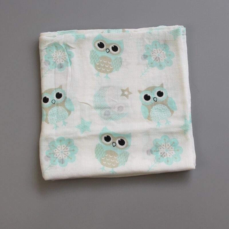 100% Bamboo Fibre Baby Swaddle Miękkie noworodka Koce Niemowlę Wrap - Pościel - Zdjęcie 2