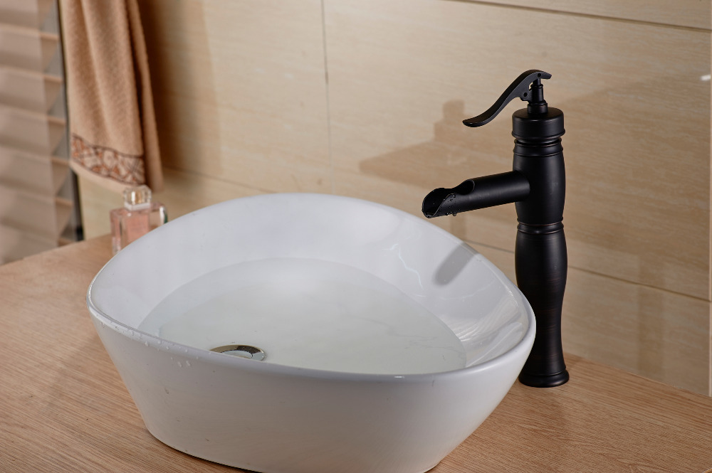 New Oil Rubbed Bronze Bathroom Faucet Vessel Sink Lavatory: Popular Pump Faucet-Buy Cheap Pump Faucet Lots From China