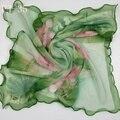 Горячая распродажа шарф женщин женский шелк жоржетта шарфы 60 см * 60 см шарф мода шарфы женский площадь scarf-b71