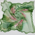 Venda quente cachecol feminino lenço de seda georgette 60 cm * 60 cm lenços de moda feminina praça scarf-b71