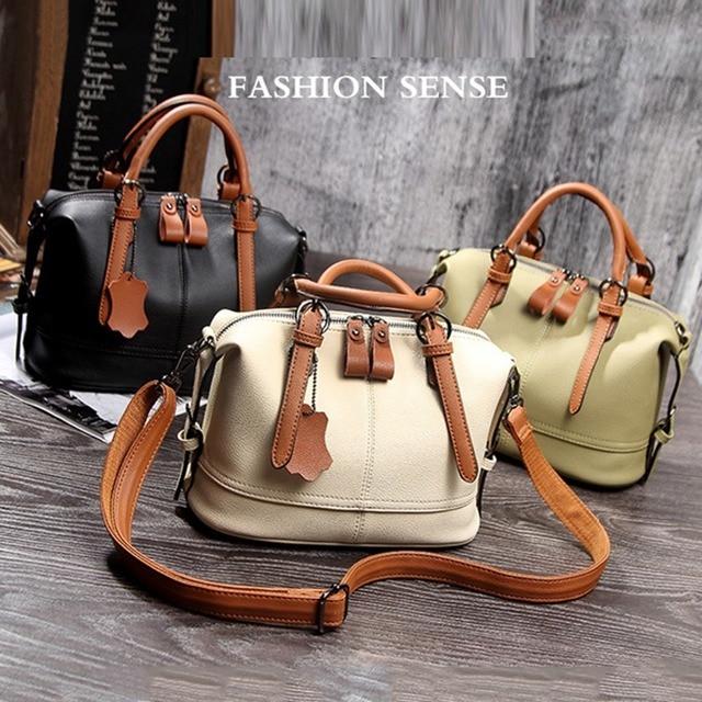 Natural Cowhide Handbag  5