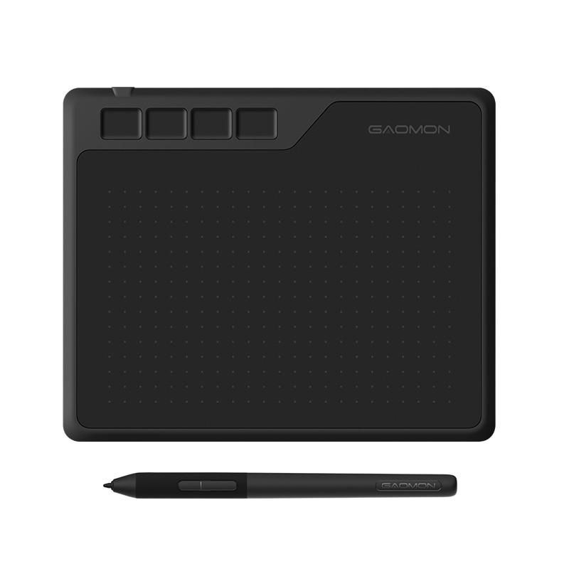 Gaomon s620 6.5x4 Polegada anime digital gráfico tablet arte placa de escrita para desenho & jogo osu com 8192 pressão caneta bateria-livre