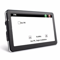 NEW 7 Inch HD Car GPS Navigation TFT LCD Touch Screen FM Transmitter 4GB Vehicle Truck