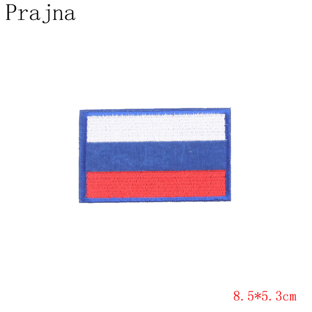 Zotoone 1pcs Russian Flag Patches Cheap Embroidery Patches For
