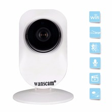 WiFi Network IP Camera Wide Angle 720P HD Wireless Security Surveillance Two-way Audio Talk Alarm Night Vision TF SD Card Slot