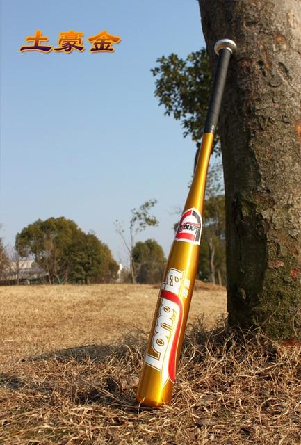Hard Alloy baseball bat 25-30 inches 63-75cm Anti slip Playing beisebol bats bar hardball for adult outdoor sports Car bate 2