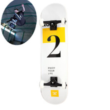 Russia imported double up adult four roller skating skateboard scooter professional brush long street skateboarding