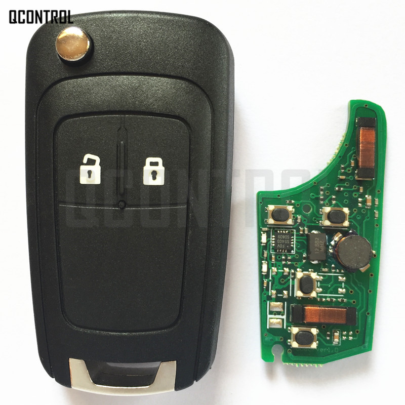 Image 2 - QCONTROL Car Smart Remote Key for Chevrolet 433MHz ID46 Chip Keyless go Comfort access-in Car Key from Automobiles & Motorcycles