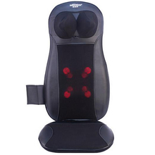 Free Shipping Car Chair Massage Cushion Viberation Massager with Far Infrared Heating for Neck Shoulder Back Waist