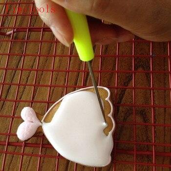 1 sztuk ciastka igły ciasto Tester narzędzia do pieczenia ze stali nierdzewnej herbatniki igła do cukru pudru pieczenia i narzędzia do pieczenia ciasta Drop Shipping