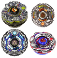 4D hot sale beyblade 4pcs/lot 4pcs/lot Beyblade Fusion Metal Masters Fury LOT+BEY LAUNCHER+GRIP RARE TOY XMAS GIFTS NEW free shi
