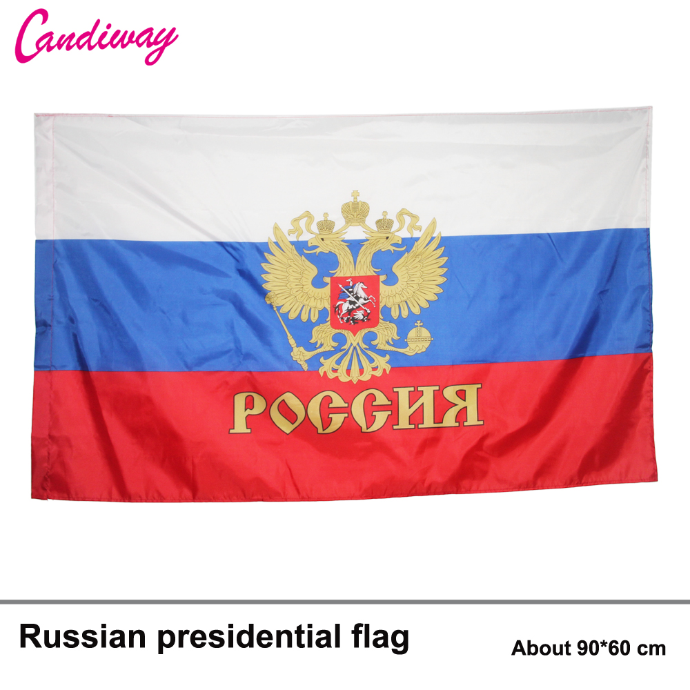 Russian Federation Presidential Flags 3x2' Ft President Of Russia FLAG CCCP National Flag For Festival USSR Decoration Flag N024
