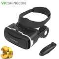 VR Shineon 4.0 Pro VR Headset Virtual Reality Goggles Shinecon VR Pro within Headphone for 4.5-6.0inch smartphone