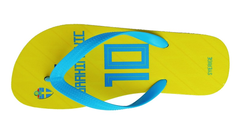 SWEDEN National Team Beach Slipper Ibrahimovic Towels Flip Flops Any Name  And Number Beach Shoes Fans Slipper -in Beach   Outdoor Sandals from Sports  ... b8cdb12fda86