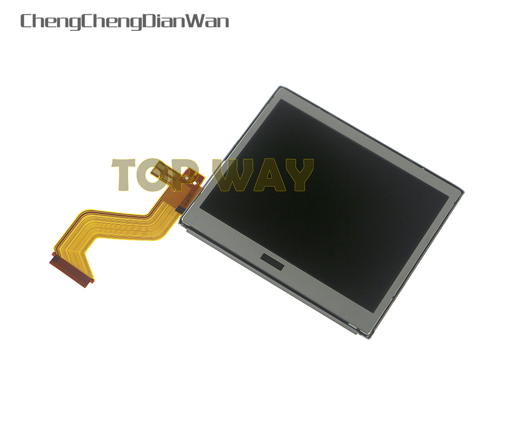 ChengChengDianWan 10pcs Best Top Upper LCD Display Screen Replacement for Nintendo DS Lite For DSL For