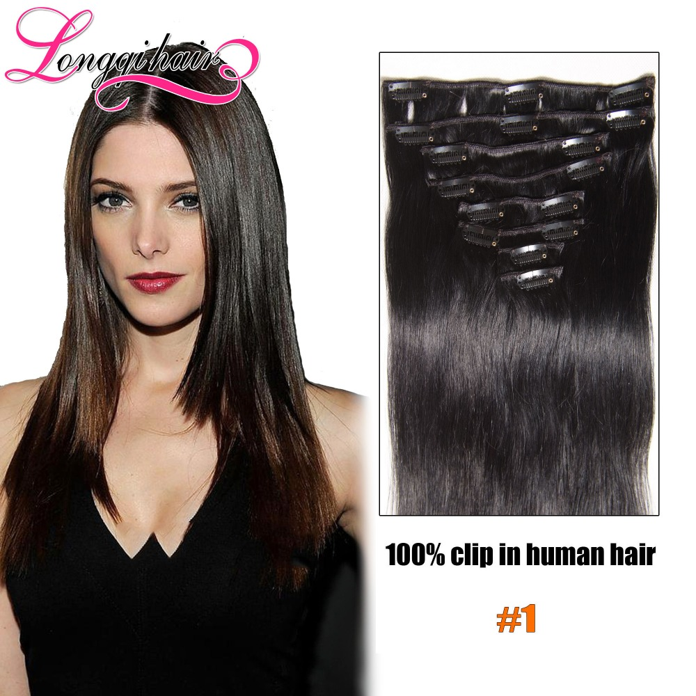 Clip in peruvian hair extensions straight 8pcs remy clip in human clip in peruvian hair extensions straight 8pcs remy clip in human hair pieces full head clip on human hair extensions on aliexpress alibaba group pmusecretfo Image collections