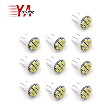 10 pieces of LED T10 8 smd 1206 8leds 8SMD car interior lights 194 168 192 W5W 3020 lights inside led lights light bulbs white