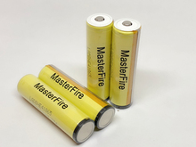 MasterFire 4PCS/LOT New LG HE4 Chem 18650 ICR18650HE4 30A 35A discharge lithium protected battery cell 2500mah batteries