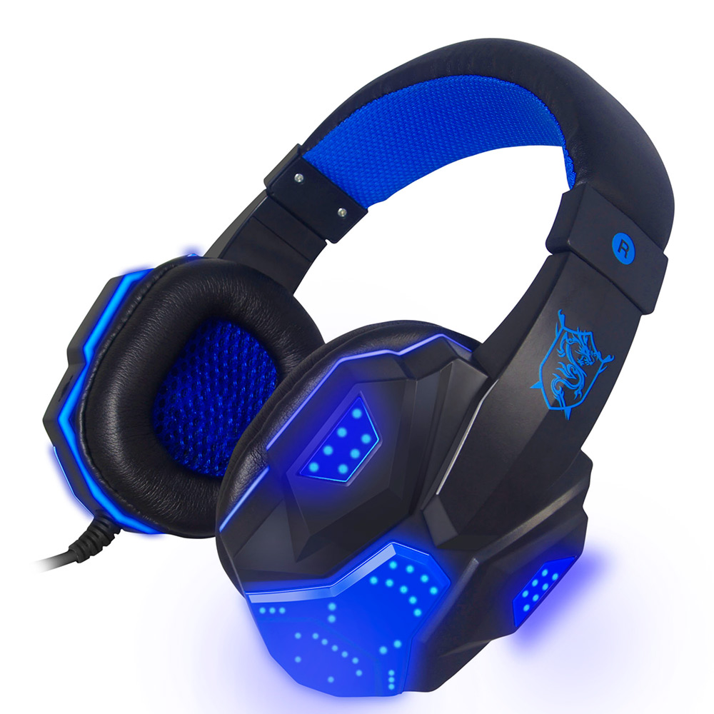 NEW Original PLEXTONE PC780 Deep Bass Gaming Headset USB Earphone Headband Stereo Headphones With Mic LED Light For DJ PC Gamers