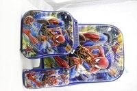 3 Sztuk/zestaw anime 6D studenci wózek przypadku dzieci Climb schody cartoon Bagażu Podróży walizka stereo piórnik dla dzieci prezent dla dzieci