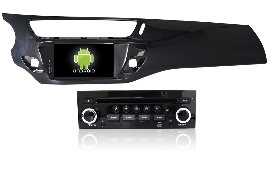 Navirider Android 8.1.0 octa core car dvd player for Citroen C3/DS3 gps+glosnass multimedia head Unit stereo autoradio