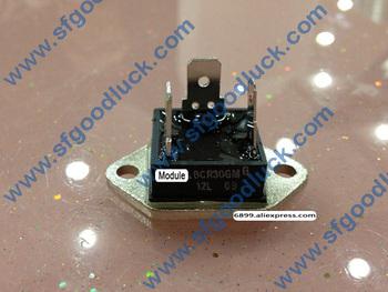 BCR30GM-12L izolowany triak tyrystor SCR 600V 30A TO-3 waga 26g tanie i dobre opinie Fu Li
