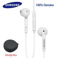 Véritable Samsung eo-eg920bw écouteurs avec Boîte De Rangement pour xiaomi note1/2/3 rednote 1/2/3/4 Galaxy S3/S4/S5 S6 S7 Bord