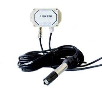 Em tempo real de Oxigênio Dissolvido Transmissor Conversor Modbus RTU RS-485 4-20mA 0-5 V com senso FAZER sonda eletrodo Substituível