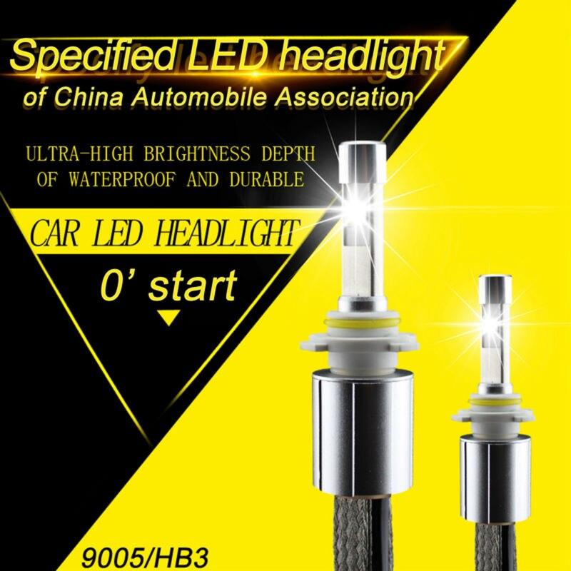 ФОТО 2017 Update XHP-70 P70 LED Headlight Bulb HB3 9005 13200LM 110W High Bright Conversion Kits 5000K 6000K Super White Car Headlamp