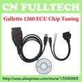 Ferramentas de Ajuste EOBD Galletto 1260 ECU Tuning Chip Interface Com Múltiplas Linguagens Frete Grátis