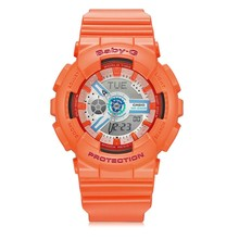 Casio sports watch baby-g series outdoor sports waterproof ladies watch orange rubber band BA-110SN-4A Watch Women Brand Famous(China)