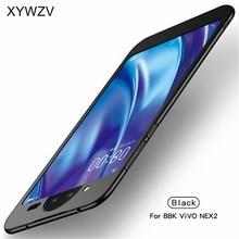 ViVO Nex 2 Ince Darbeye Dayanıklı Özlü Ultra ince Pürüzsüz Sert PC telefon kılıfı Vivo için kılıf Nex 2 arka kapak Için ViVO Nex 2 Fundas