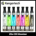 Kanger original cex larga mecha ego tanque 1.6 ml bobina cambiable cartomizer claro/clearomizer cigarrillo electrónico atomizador