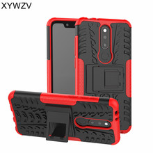 sFor Nokia 5.1 Plus Case Armor Rubber Silicone Shockproof Hard Back Phone For Cover X5 Fundas