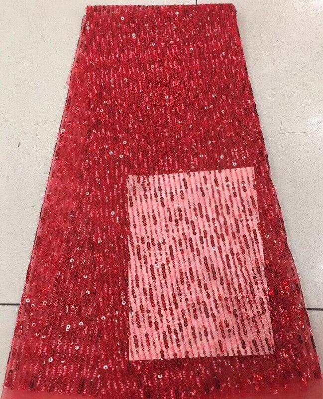 Tissu de lacets nigérians de mode SYJ-1216114 tissu de dentelle de Tulle français de mariée