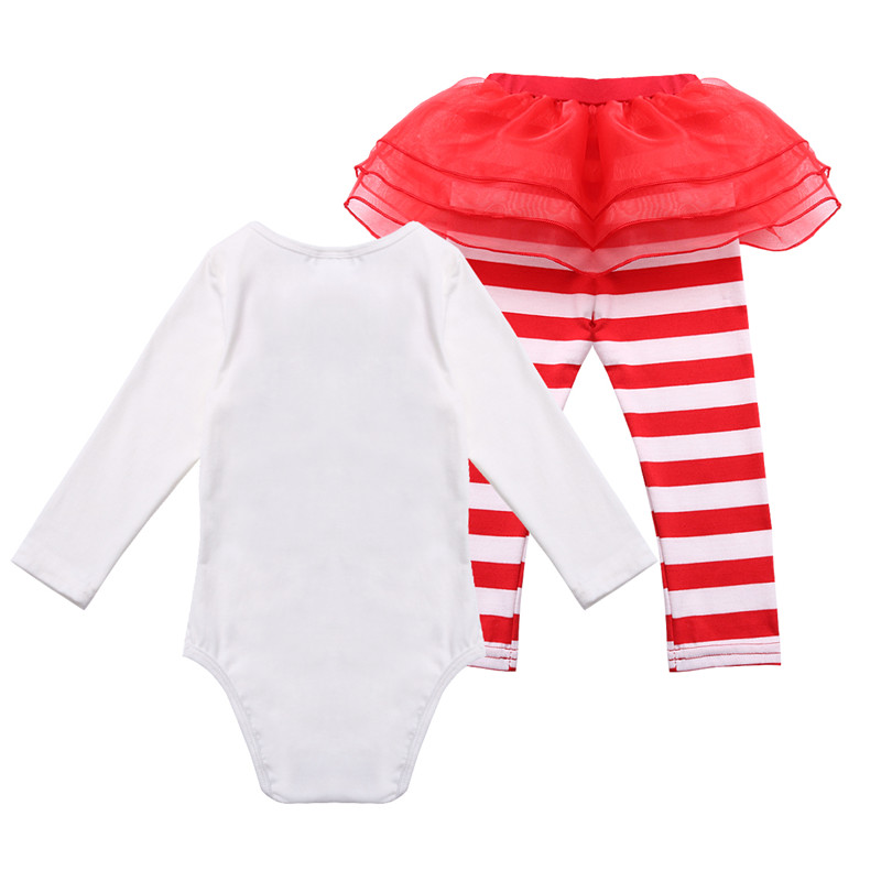 f97db82cf Aliexpress.com : Buy 3 18M Newborn Infant Baby Girls Christmas Outfit Deer  Romper with Striped Pants My first Christmas outfits Jumpsuit Costume from  ...
