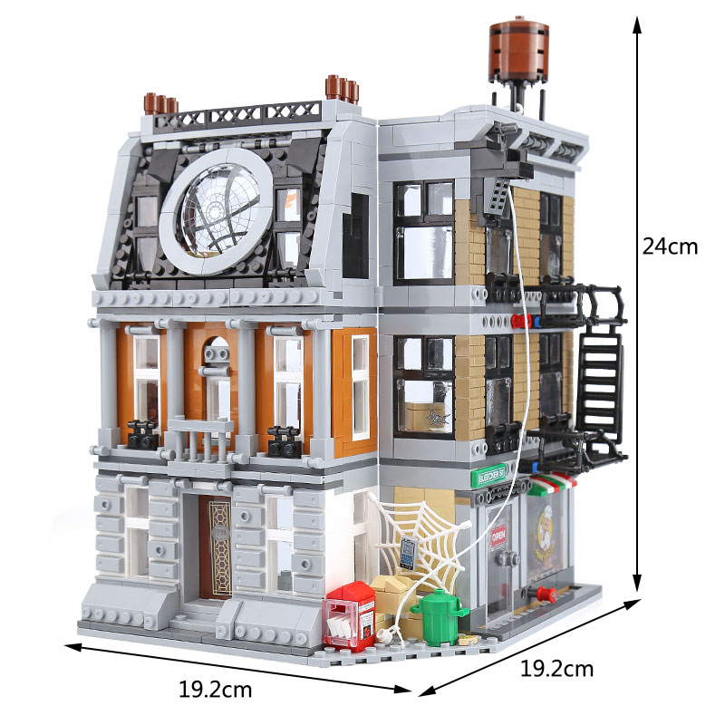 07107 Super Hero Toys Series The Sanctum Sanctorum Showdown Set Compatible With 76108 Building Blocks Bricks