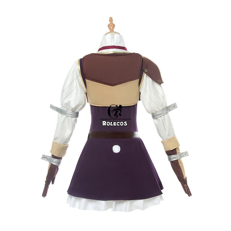 Image 5 - ROLECOS Anime The Rising of the Shield Hero Raphtalia Cosplay Costume Tate no Yuusha no Nariagari Cosplay Women Dress Full Set