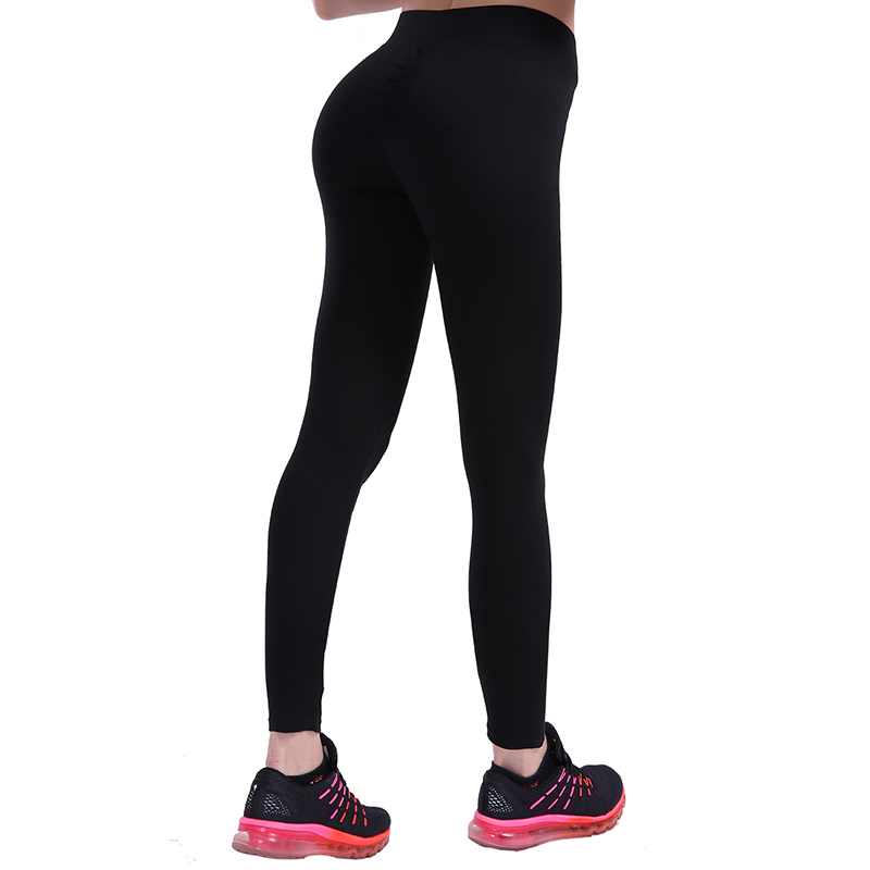 Frauen Push-Up-Leggings Workout Leggings Schlank Leggings Polyester Jeggings Frauen Bleistift Hosen