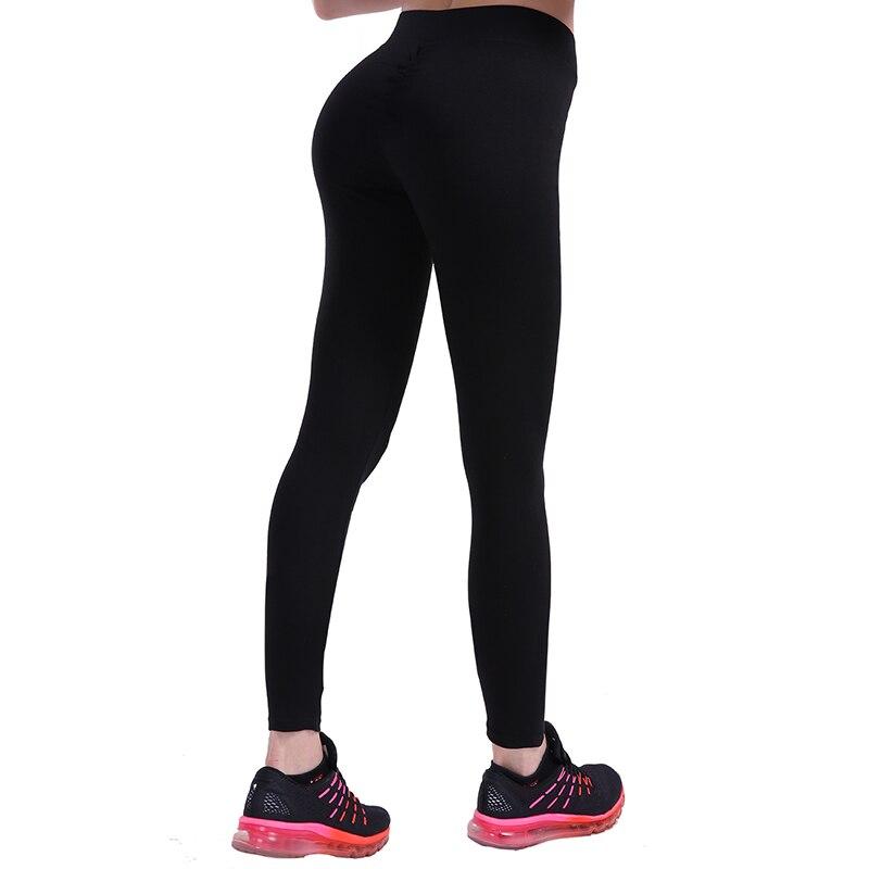 Mujeres Push Up Leggings entrenamiento Slim Leggings poliéster Jeggings mujeres pantalones lápiz