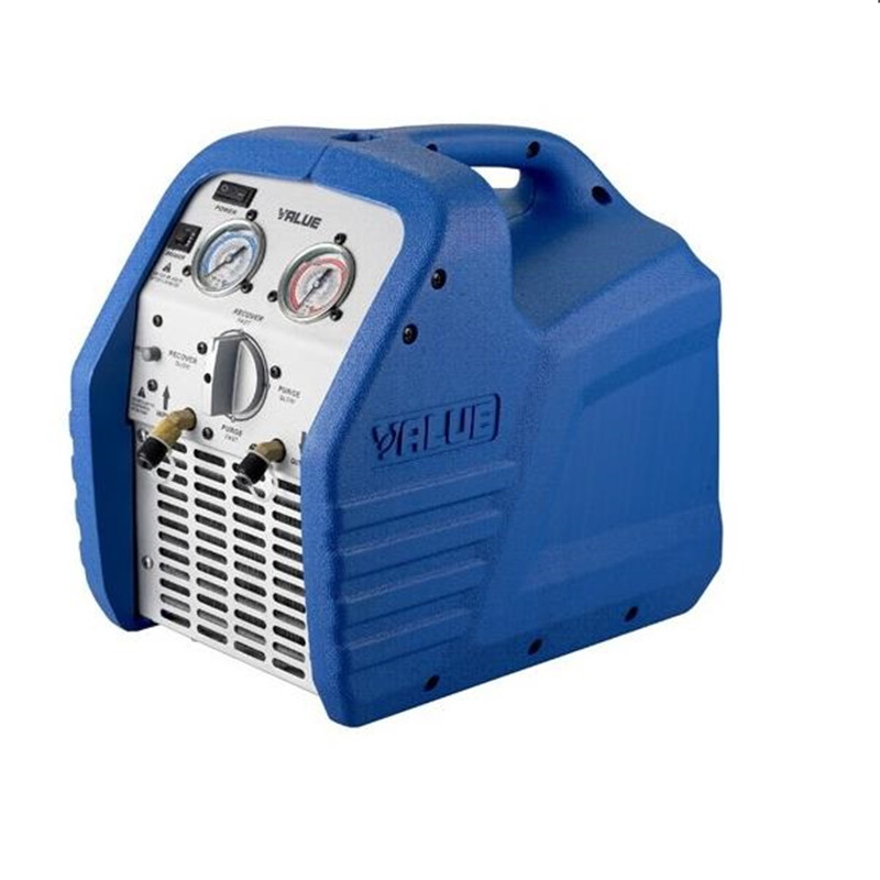 220V Refrigerant Recycling Unit VRR12L 3 / 4HP R410A, R134a  Refrigerant Recycling Machine Current 4A Refrigeration Repair Tool genuine leap brand refrigeration tools over the mini cylinder refrigerant recovery machine vrr12l refrigerant recovery machine