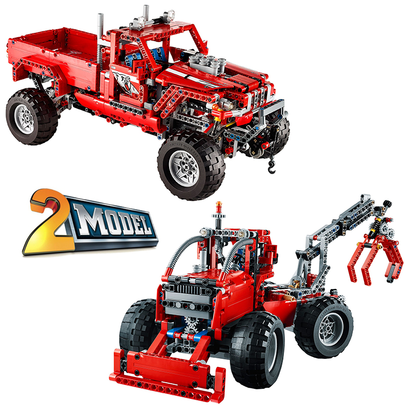 ФОТО Decool 3362 Customised Pick-Up Truck Truck building bricks blocks Toy Boy Game Model Car Gift Compatible with Lepin Bela 42029