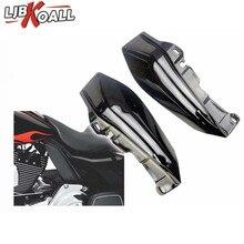 Plastic Black Mid Frame Air Deflector Trim For Harley Street Glide Tri Electra Road 2009 2010 2011 2012 2013 2014 2015 2016 2017