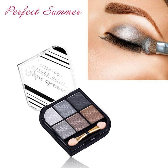 Perfect Summer Eye Shadow Powder Makeup Palette Natural Eye Makeup