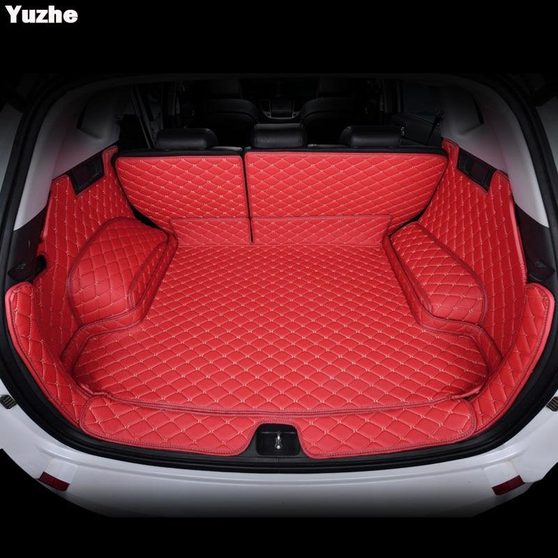 Yuzhe Personalizado mat mala do carro Para Hyundai tucson 2017 2016 Acessórios Interiores Tapete estilo do carro mat Tronco Forro De Carga