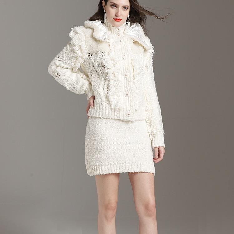 Chandail Masichun Printemps Blanc 2019 Du Cardigans Blouson Femme Début Au Nouveau Femmes Pour xIvEHUU