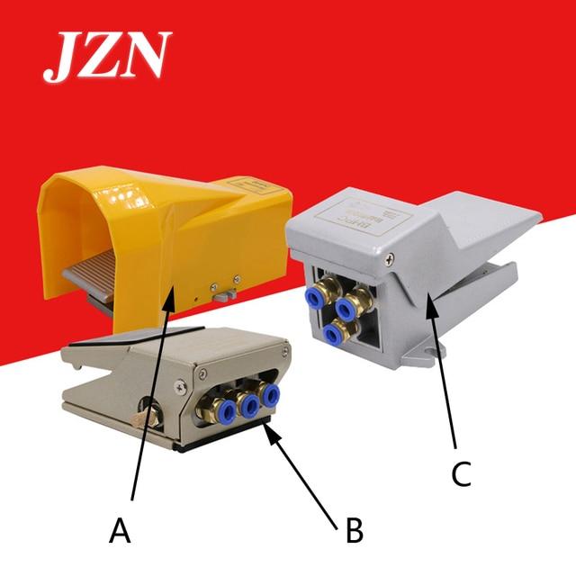 נעול דוושת פנאומטי שסתום 4F210 08L דוושת מתג FV320 צילינדר בקרת היפוך FV420 שני חמש דרך